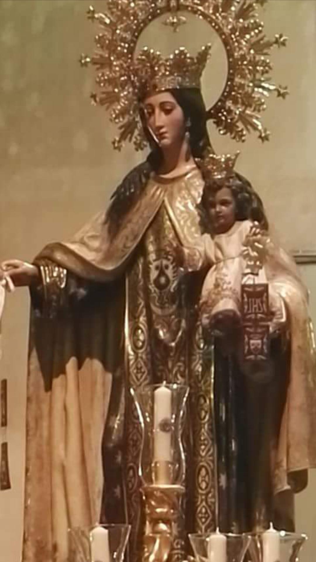 Virgen Carmen Gitanos